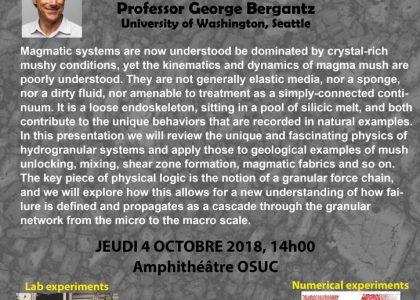 George Bergantz gives a Seminar at ISTO