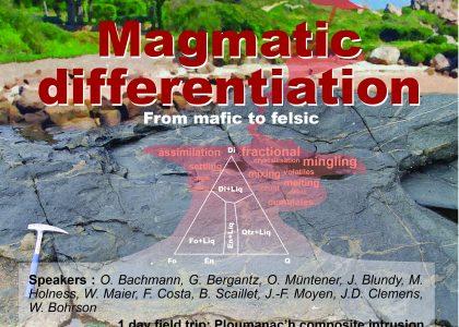 École d'été GRANITES sur la Différenciation Magmatique